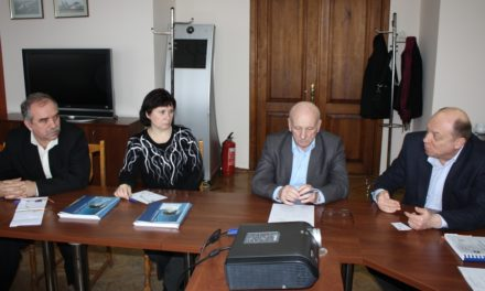 "Working meeting JSC UkrRIAT and JSC ""Motor Sich"""