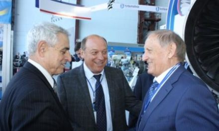 September 27 – October 1, 2012 UkrRIAT took part in the 8th International Aviation and Space Salon Aviasvit-XXI