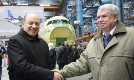 Roll-out of the stocks of the fuselage of the first serial An-70 aircraft for the Ministry of Defense of Ukraine