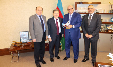 """Working meetings SE """"Antonov"""" and Azerbaydzhanckoy hand"""