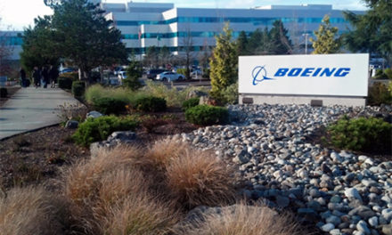 Paid a working visit to the Boeing production sites